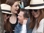 NEW YORK, NY - JUNE 15:  Michael J. Fox meets Julianne Moore and her daugther Liv Freundlich while having dinner with his wife Tracy Pollan and few friends at Bar Pitty on June 15, 2016 in New York City.  (Photo by BBD/GC Images)