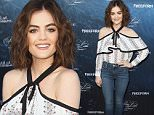 """HOLLYWOOD, CA - JUNE 15:  Actress Lucy Hale attends the premiere of ABC Family's """"Dead of Summer"""" and """"Pretty Little Liars"""" Season 7 held at the Hollywood Forever on June 15, 2016 in Hollywood, California.  (Photo by Tommaso Boddi/WireImage)"""