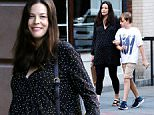 Mandatory Credit: Photo by Zelig Shaul/ACE Pictures/REX/Shutterstock (5731108g)\nLiv Tyler, Milo Langdon\nLiv Tyler out and about, New York, USA - 14 Jun 2016\n