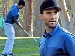 """EXCLUSIVE: Adam Levine plays golf with friends in Los Angeles, seen for the first time since the murder of Christina Grimmie, who he coached on The Voice""""\n\nPictured: Adam Levine \nRef: SPL1300920  150616   EXCLUSIVE\nPicture by: Splash News\n\nSplash News and Pictures\nLos Angeles: 310-821-2666\nNew York: 212-619-2666\nLondon: 870-934-2666\nphotodesk@splashnews.com\n"""