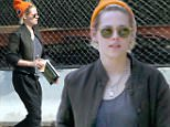 Exclusive... 52094044 Actress Kristen Stewart and a friend spotted out together in Studio City, California on June 15, 2015. Kristen and her friend stopped by another friends house to hang out for a few. FameFlynet, Inc - Beverly Hills, CA, USA - +1 (310) 505-9876
