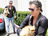 EXCLUSIVE: Mickey Rourke seen Arriving For Meeting With Pooch in Beverly Hills.\n\nPictured: Mickey Rourke\nRef: SPL1302228  150616   EXCLUSIVE\nPicture by: KAT / Splash News\n\nSplash News and Pictures\nLos Angeles: 310-821-2666\nNew York: 212-619-2666\nLondon: 870-934-2666\nphotodesk@splashnews.com\n