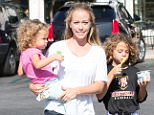 *EXCLUSIVE* Calabasas, CA - Kendra Wilkinson was seen taking her adorable children Hank, and Allijah out for fro-yo at Menchie's Frozen Yogurt in Calabasas.  AKM-GSI   June  14, 2016 To License These Photos, Please Contact : Maria Buda (917) 242-1505 mbuda@akmgsi.com sales@akmgsi.com or  Mark Satter (317) 691-9592 msatter@akmgsi.com sales@akmgsi.com www.akmgsi.com
