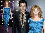 """Celebrity arrivals for the Los Angeles Red Carpet Premiere of """"The Neon Demon"""". Held at the ArcLight Cinemas' Cinerama Dome in Los Angeles, California.  Pictured: Christina Hendricks Ref: SPL1302389  140616   Picture by: Jen Lowery / Splash News  Splash News and Pictures Los Angeles: 310-821-2666 New York: 212-619-2666 London: 870-934-2666 photodesk@splashnews.com"""