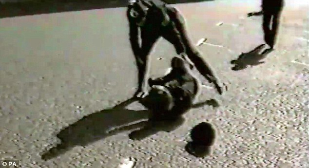 Scotland Yard have released horrifying footage of the moment Pc Yvonne Fletcher was shot outside the Libyan Embassy in London 31-years-ago