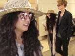 Please contact X17 before any use of these exclusive photos - x17@x17agency.com   Vanessa Hudgens and Austin Butler were spotted arriving at LAX to catch a flight out of town.  The pair were spotted smiling at each other as they made their way through the airport.  Thursday, June 16, 2016  X17online.com  PREMIUM EXCLUSIVE