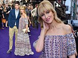 Stars gather for the press night of the new Disney production of Aladdin at the Prince Edward Theatre London\nFeaturing: Katherine Kelly, Ryan Clark\nWhere: London, United Kingdom\nWhen: 14 Jun 2016\nCredit: Alan West/WENN.com
