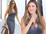 *EXCLUSIVE* West Hollywood, CA - Sofia Vergara dons a form fitting dress and black platform sandals as she shops at Mayfair House.\nAKM-GSI   June  15, 2016\nTo License These Photos, Please Contact :\nMaria Buda\n(917) 242-1505\nmbuda@akmgsi.com\nsales@akmgsi.com\nor \nMark Satter\n(317) 691-9592\nmsatter@akmgsi.com\nsales@akmgsi.com\nwww.akmgsi.com\n