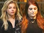 15.June.2016 - Hollywood, CA  - USA\n***AVAILABLE FOR UK AND GERMANY SALE ONLY ***\n**EXCLUSIVE ALL ROUND PICTURES**\nChloe Grace Moretz and Meghan Trainor engage in some girl talk after a late club night at Warwick.  Brooklyn Beckham's girlfriend appeared to exchange numbers with a gentleman outside the club, while Meghan continued to gossip with friends.  Earlier tonight, Chloe caught Meghan's performance on 'Jimmy Kimmel Live'.\nBYLINE MUST READ: AKM-GSI-XPOSURE\n***UK CLIENTS - PICTURES CONTAINING CHILDREN PLEASE PIXELATE FACE PRIOR TO PUBLICATION ***\n*UK CLIENTS MUST CALL PRIOR TO TV OR ONLINE USAGE PLEASE TELEPHONE 0208 344 2007*