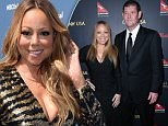 LOS ANGELES, CA - JANUARY 28:  (L-R) Mariah Carey and James Packer attend the 2016 G'Day Los Angeles Gala at Vibiana on January 28, 2016 in Los Angeles, California.  (Photo by Jonathan Leibson/Getty Images)