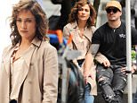 Jennifer Lopez and Casper Smart show PDA as she takes a break from her 'Shades of Blue' set in NYC.\n\nPictured: Jennifer Lopez\nRef: SPL1303690  160616  \nPicture by: JENY / Splash News\n\nSplash News and Pictures\nLos Angeles: 310-821-2666\nNew York: 212-619-2666\nLondon: 870-934-2666\nphotodesk@splashnews.com\n