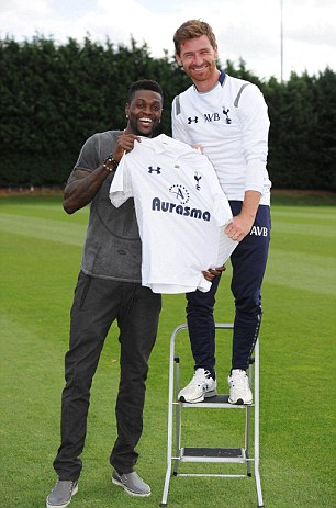 Getting his man: Andre Villas-Boas finally signs Adebayor
