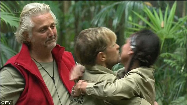 Poignant: Lucy's departure leaves Kian and David as the two finalists on the show