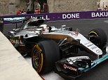 Mandatory Credit: Photo by Dunbar/LAT/REX/Shutterstock (5734060a) Lewis Hamilton, Mercedes F1 W07 Hybrid. European Formula One 1 Grand Prix practice, Baku City Circuit, Baku, Azerbaijan. 17 Jun 2016.