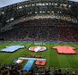 15 June 2016 - UEFA EURO 2016 - Group A - France v Albania - A general view (GV) of Stade Velodrome as the teams line up - Photo: Marc Atkins / Offside.