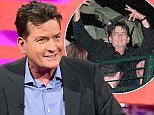 Charlie Sheen during filming of The Graham Norton Show, at The London Studios, south London, to be aired on BBC One on Friday evening. PRESS ASSOCIATION Photo. Picture date: Thursday June 16, 2016. Photo credit should read: PA Images on behalf of So TV