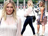 , New York, NY - 6/16/2016 - Hilary Duff on the Set of Younger in the West Village\n-PICTURED: Hilary Duff\n-PHOTO by: Jose Perez/startraksphoto.com\n-JPEv_79542.JPG\nEditorial - Rights Managed Image - Please contact www.startraksphoto.com for licensing fee\nStartraks Photo\nNew York, NY\nFor licensing please call 212-414-9464 or email sales@startraksphoto.com\nImage may not be published in any way that is or might be deemed defamatory, libelous, pornographic, or obscene. Please consult our sales department for any clarification or question you may have.\nStartraks Photo reserves the right to pursue unauthorized users of this image. If you violate our intellectual property you may be liable for actual damages, loss of income, and profits you derive from the use of this image, and where appropriate, the cost of collection and/or statutory damages.