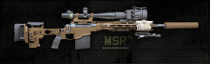 The Remington MSR, SOCOM's PSR