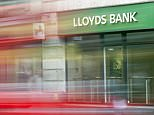 The logo of British bank Lloyds Bank outside a branch of the bank in central London, England. British regulators said June 5, 2015, they had fined Lloyds Banking Group £117 million ($179 million, 160 million euros) for unfair treatment of customer complaints after they were mis-sold an insurance product.     AFP PHOTO / JACK TAYLOR        (Photo credit should read JACK TAYLOR/AFP/Getty Images)