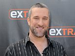 """UNIVERSAL CITY, CA - MAY 16:  Dustin Diamond visits """"Extra"""" at Universal Studios Hollywood on May 16, 2016 in Universal City, California.  (Photo by Noel Vasquez/Getty Images)"""