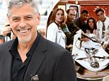 """CANNES, FRANCE - MAY 12:  George Clooney attends the """"Money Monster"""" Photocall at the annual 69th Cannes Film Festival at Palais des Festivals on May 12, 2016 in Cannes, France.  (Photo by George Pimentel/WireImage)"""