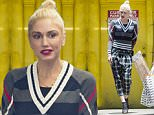 Exclusive... 52095380 Singer Gwen Stefani is spotted out shopping for party supplies set Aahs in West Hollywood, California on June 16, 2016. Gwen is getting ready to go on tour and is hoping that her boyfriend Blake Shelton comes with her. FameFlynet, Inc - Beverly Hills, CA, USA - +1 (310) 505-9876