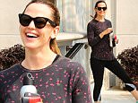 Brentwood, CA - Jennifer Garner is in a cheerful mood after getting a workout in with her workout buddy. The two wore matching sneakers as usual as they are seen leaving the gym in good spirits.\n  \nAKM-GSI       June 17, 2016\nTo License These Photos, Please Contact :\nMaria Buda\n(917) 242-1505\nmbuda@akmgsi.com\nsales@akmgsi.com\nor\nMark Satter\n(317) 691-9592\nmsatter@akmgsi.com\nsales@akmgsi.com\nwww.akmgsi.com