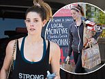 """Picture Shows: Ashley Greene  June 17, 2016\n \n 'Twilight' actress Ashley Greene was spotted after the gym in Los Angeles, California. She recently said """"I'm still reeling from this horrible tragedy. Love each other. Love the similarities, love the differences. Just love. #loveislove"""" on her Instagram in light of the recent tragedy in Orlando.\n \n Non Exclusive\n UK RIGHTS ONLY\n \n Pictures by : FameFlynet UK © 2016\n Tel : +44 (0)20 3551 5049\n Email : info@fameflynet.uk.com"""