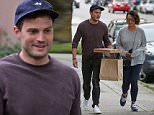 *EXCLUSIVE* A happy Jamie Dornan and wife Amelia hold hands as they arrive for a dinner date in the Kits Beach District of Vancouver, BC Canada. After dinner, the couple left the restaurant with take-out.\nAKM-GSI      June 17, 2016\nTo License These Photos, Please Contact :\nMaria Buda\n(917) 242-1505\nmbuda@akmgsi.com\nsales@akmgsi.com\nor\nMark Satter\n(317) 691-9592\nmsatter@akmgsi.com\nsales@akmgsi.com\nwww.akmgsi.com