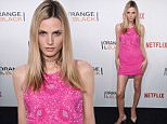 """NEW YORK, NY - JUNE 16:  Model Andrej Pejic attends """"Orange Is The New Black"""" premiere at SVA Theater on June 16, 2016 in New York City.  (Photo by Dimitrios Kambouris/Getty Images)"""