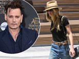 Los Angeles, CA - Amber Heard is spotted arriving to a studio on Thursday after her recent struggles with her separation from Johnny Depp. The 30-year-old actress is wearing jeans and a black tee paired with studded oxfords and a hat.\n \n AKM-GSI June 16, 2016\n \n To License These Photos, Please Contact :\n \n Maria Buda\n (917) 242-1505\n mbuda@akmgsi.com\n sales@akmgsi.com\n \n or \n \n Mark Satter\n (317) 691-9592\n msatter@akmgsi.com\n sales@akmgsi.com\n www.akmgsi.com\n