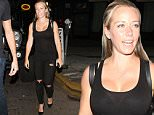 15 June 2016 - Hollywood, CA  - USA\n**STRICTLY AVAILABLE FOR UK AND GERMANY USE ONLY**\nKendra Wilkinson wraps up a fun night out with friends at Warwick nightclub in Hollywood. The 'Kendra On Top' star dressed casual in a black tank top and ripped skinny jeans. She completed her look with a pair of black stilettos and a black backpack.\nBYLINE MUST READ : AKM-GSI-XPOSURE\n***UK CLIENTS - PICTURES CONTAINING CHILDREN PLEASE PIXELATE FACE PRIOR TO PUBLICATION ***\n*UK CLIENTS MUST CALL PRIOR TO TV OR ONLINE USAGE PLEASE TELEPHONE 0208 344 2007*\n