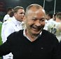 MELBOURNE, AUSTRALIA - JUNE 18:  Eddie Jones, the England head coach, celebrates  after their victory during the International Test match between the Australian Wallabies and England at AAMI Park on June 18, 2016 in Melbourne, Australia.  (Photo by David Rogers/Getty Images)