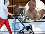 EXCLUSIVE TO INF.\nJune 17, 2016:  Nick Carter and his wife Lauren Kitt out shopping with their baby son, Odin Reign Carter, in West Hollywood, California.\nMandatory Credit: Fresh/INFphoto.com\nRef: infusla-284