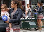jkpix tamara ecclestone and daughter sophia at the opening day of her salon salon in wimbledon village
