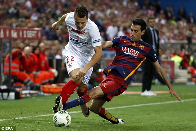 The defensive midfielder has made 384 appearances for Barcelona since making his first team debut in 2009