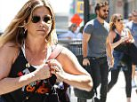 """eURN: AD*210215302  Headline: Justin Theroux and Jennifer Aniston step out in sunny NYC Caption: New York, NY - Justin Theroux and Jennifer Aniston step out in sunny NYC together with Justin looking casual and Jennifer supporting """"stand up to cancer"""" in what looks like a gym outfit. AKM-GSI          June 18, 2016 To License These Photos, Please Contact : Maria Buda (917) 242-1505 mbuda@akmgsi.com sales@akmgsi.com or  Mark Satter (317) 691-9592 msatter@akmgsi.com sales@akmgsi.com www.akmgsi.com Photographer: AGNY  Loaded on 18/06/2016 at 19:37 Copyright:  Provider: @Wagner_AZ/AKM-GSI  Properties: RGB JPEG Image (19997K 2494K 8:1) 2133w x 3200h at 240 x 240 dpi  Routing: DM News : GeneralFeed (Miscellaneous) DM Showbiz : SHOWBIZ (Miscellaneous) DM Online : Online Previews (Miscellaneous), CMS Out (Miscellaneous)  Parking:"""