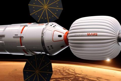 NASA создаст жилой модуль для запуска миссий на Марс