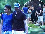 eURN: AD*210300140  Headline: *EXCLUSIVE* Hugh Jackman celebrates Father's Day with his family Caption: *EXCLUSIVE* New York, NY - Hugh Jackman celebrates Father's Day early with his family, wife Deborra, and kids Ava and Oscar. The group are seen enjoying a picnic at Washington Square Park with friends.    AKM-GSI       June 19, 2016 To License These Photos, Please Contact : Maria Buda (917) 242-1505 mbuda@akmgsi.com sales@akmgsi.com Mark Satter (317) 691-9592 msatter@akmgsi.com sales@akmgsi.com www.akmgsi.com Photographer: KEVY  Loaded on 19/06/2016 at 19:52 Copyright:  Provider: AKM-GSI  Properties: RGB JPEG Image (12406K 1464K 8.5:1) 2522w x 1679h at 300 x 300 dpi  Routing: DM News : GeneralFeed (Miscellaneous) DM Showbiz : SHOWBIZ (Miscellaneous) DM Online : Online Previews (Miscellaneous), CMS Out (Miscellaneous)  Parking: