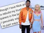 Mandatory Credit: Photo by Broadimage/REX/Shutterstock (4775603ac)\\nNick Young and Iggy Azalea\\nBillboard Music Awards arrivals, Las Vegas, America - 17 May 2015\\n2015 Billboard Music Awards - Arrivals\\n
