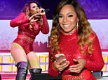 ATLANTA, GA - JUNE 18:  Ashanti attends Philips Arena on June 18, 2016 in Atlanta, Georgia.  (Photo by Prince Williams/WireImage)