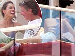 EXCLUSIVE: **PREMIUM RATES APPLY** A mystery man grabs Alessandra Ambrosio playfully around the neck as she parties in Las Vegas, Nevada. The unidentified partygoer was spotted pushing the model's head down as they both laughed and larked around in a VIP cabana at the Encore Beach Club pool party on June 18, 2016. Ambrosio, who has two children with partner Jamie Mazur, was also seen lying next to the man on a cabana lounge chair. The Victoria's Secret model appeared to be having a blast with her friend while two security guards kept watch over the other guests that walked by them while they chatted.\n\nPictured: Alessandra Ambrosio, mystery partygoer\nRef: SPL1304887  190616   EXCLUSIVE\nPicture by: Splash News\n\nSplash News and Pictures\nLos Angeles: 310-821-2666\nNew York: 212-619-2666\nLondon: 870-934-2666\nphotodesk@splashnews.com\n