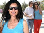 eURN: AD*210217735  Headline: Minnie Driver is affectionate with boyfriend Neville Wakefield as they shop at a garden centre in Malibu, California. Caption: Minnie Driver is affectionate with boyfriend Neville Wakefield as they shop at a garden centre in Malibu, California. Minnie was dressed casually in bright sweatpants and a blue vest top. They were seen laughing together as they bought a hose and perused some plants. The happy couple - who went public with their romance last year - continually had their arms around each other as they strolled through Cross Creek carrying their iced coffees.   Pictured: Minnie Driver, Neville Wakefield Ref: SPL1303750  180616   Picture by: Splash News  Splash News and Pictures Los Angeles: 310-821-2666 New York: 212-619-2666 London: 870-934-2666 photodesk@splashnews.com  Photographer: Splash News Loaded on 18/06/2016 at 20:16 Copyright: Splash News Provider: Splash News  Properties: RGB
