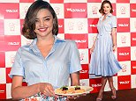 TOKYO, JAPAN - JUNE 20:  Miranda Kerr attends the promotional event for 'Marukome Miso' at Shangri-La Hotel on June 20, 2016 in Tokyo, Japan.  (Photo by Jun Sato/WireImage)