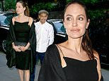 New York, NY - Angelina Jolie gets turned around while out to dinner with her son Maddox and her brother James Haven. The group are seen trying to find the door to Gyu-Kaku Japanese BBQ, only to leave 15 minutes later to go to another restaurant.\nAKM-GSI          June 18, 2016\nTo License These Photos, Please Contact :\nMaria Buda\n(917) 242-1505\nmbuda@akmgsi.com\nsales@akmgsi.com\nor \nMark Satter\n(317) 691-9592\nmsatter@akmgsi.com\nsales@akmgsi.com\nwww.akmgsi.com
