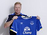 UNSPECIFIED LOCATION - JUNE 14: (EXCLUSIVE COVERAGE) Ronald Koeman poses for a photograph after becoming the manager of Everton Football Club on June 14, 2016.  (Photo by Tony McArdle/Everton FC via Getty Images)