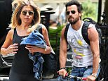 Jennifer Aniston flashes her pink bra while going to the gym in New York City.\n\nPictured: jennifer aniston\nRef: SPL1305691  210616  \nPicture by: Ryan Turgeon / Splash News\n\nSplash News and Pictures\nLos Angeles: 310-821-2666\nNew York: 212-619-2666\nLondon: 870-934-2666\nphotodesk@splashnews.com\n