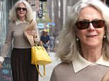 19.June.2016 - Venice ñ USA\n*** STRICTLY AVAILABLE FOR UK AND GERMANY USE ONLY ***\n** EXCLUSIVE ALL ROUND PICTURES **\nVenice, CA - Blythe Danner is seen out and about running errands. The 73-year-old actress looks great wearing a brown skirt and beige sweater paired with sandals. Blythe accessorizes with a bright yellow handbag and straw hat. \nBYLINE MUST READ : AKM-GSI-XPOSURE\n***UK CLIENTS - PICTURES CONTAINING CHILDREN PLEASE PIXELATE FACE PRIOR TO PUBLICATION ***\n*UK CLIENTS MUST CALL PRIOR TO TV OR ONLINE USAGE PLEASE TELEPHONE 0208 344 2007*\n