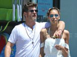 *EXCLUSIVE* Malibu, CA - Robin Thicke loves up on April Geary after lunch and furniture shopping in Malibu. The couple appeared happy as they walked arm-in-arm and had a good laugh. Robin Thicke was seen in a white tee, gray swim shorts and black flip flops. AKM-GSI            June 20, 2016 To License These Photos, Please Contact : Maria Buda (917) 242-1505 mbuda@akmgsi.com sales@akmgsi.com Mark Satter (317) 691-9592 msatter@akmgsi.com sales@akmgsi.com www.akmgsi.com