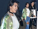 Malibu, CA - Reality star, Kourtney Kardashian, couldn't contain her delight as she left Nobu restaurant with a handsome friend.  She was seen smiling as she walked with a group but seemed to be keen to staying close to a handsome friend whom she shared a laugh with.  She was seen in a satin bomber jacket, neutral tee, ripped jeans, and balk stilettos.\n  \nAKM-GSI       June 13, 2016\nTo License These Photos, Please Contact :\nMaria Buda\n(917) 242-1505\nmbuda@akmgsi.com\nsales@akmgsi.com\nMark Satter\n(317) 691-9592\nmsatter@akmgsi.com\nsales@akmgsi.com\nwww.akmgsi.com